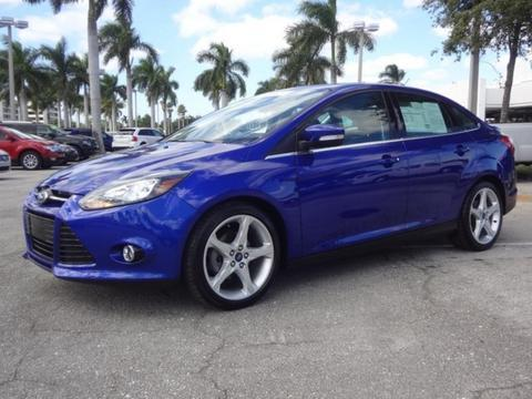2013 Ford Focus Titanium Sedan for sale in Lake Worth for $18,991 with 17,974 miles.