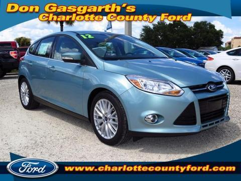 2012 Ford Focus SEL Hatchback for sale in Port Charlotte for $16,900 with 14,810 miles.