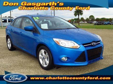 2012 Ford Focus SE Sedan for sale in Port Charlotte for $16,800 with 13,457 miles.