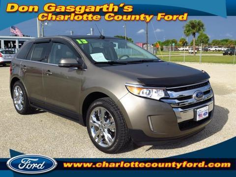 2013 Ford Edge Limited SUV for sale in Port Charlotte for $30,900 with 12,081 miles.