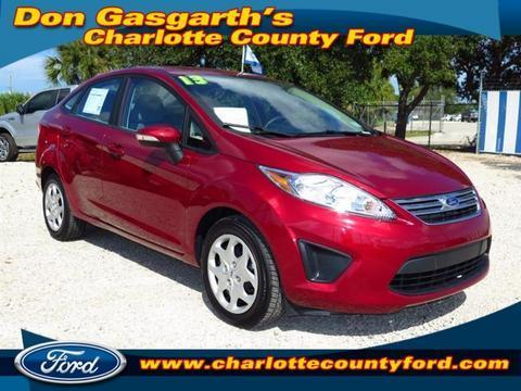 2013 Ford Fiesta SE Sedan for sale in Port Charlotte for $15,900 with 7,391 miles.