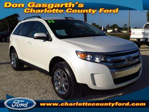 2013 Ford Edge SEL SUV for sale in Port Charlotte for $28,900 with 15,586 miles.