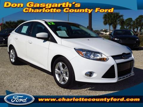 2012 Ford Focus SE Sedan for sale in Port Charlotte for $15,932 with 10,979 miles
