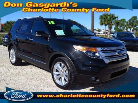 2013 Ford Explorer XLT SUV for sale in Port Charlotte for $30,900 with 11,994 miles
