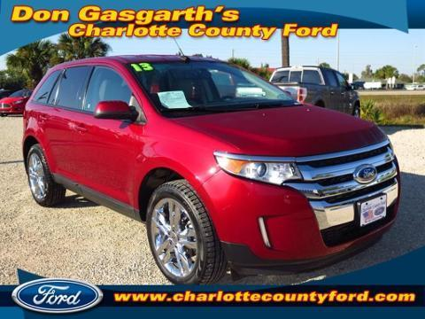2013 Ford Edge SEL SUV for sale in Port Charlotte for $28,500 with 26,229 miles.