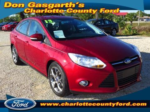 2013 Ford Focus SE Sedan for sale in Port Charlotte for $17,800 with 14,497 miles.