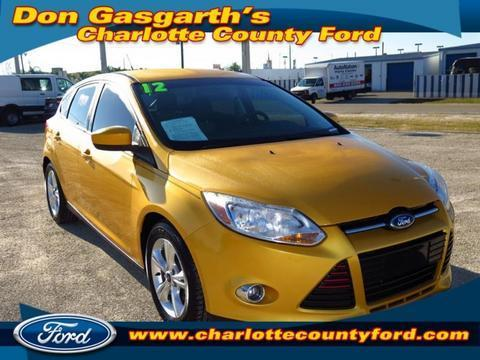2012 Ford Focus SE Hatchback for sale in Port Charlotte for $13,900 with 29,758 miles.