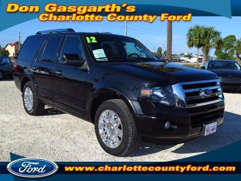 2012 Ford Expedition Limited SUV for sale in Port Charlotte for $34,900 with 24,999 miles.