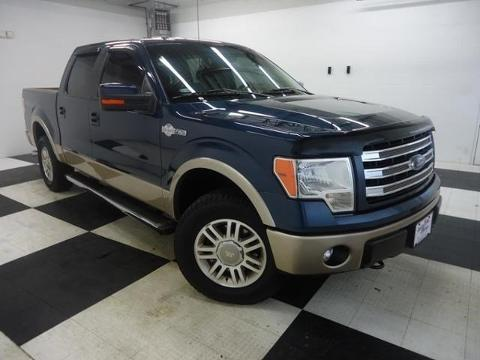 2013 Ford F150 King Ranch Crew Cab Pickup for sale in Clarksville for $42,991 with 25,283 miles.