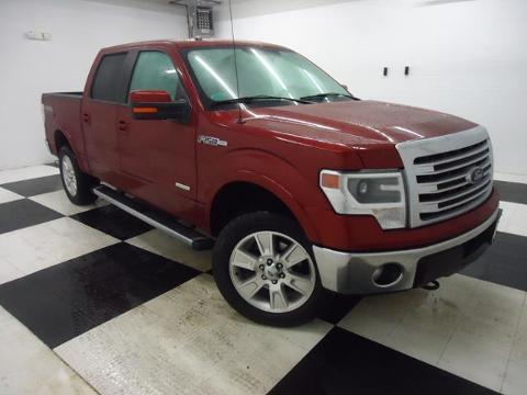 2013 Ford F150 Lariat Crew Cab Pickup for sale in Clarksville for $42,989 with 34,212 miles.