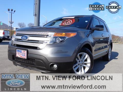 2013 Ford Explorer XLT SUV for sale in Chattanooga for $29,000 with 54,757 miles.