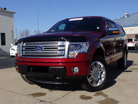 2013 Ford F150 Platinum Crew Cab Pickup for sale in Chattanooga for $41,885 with 20,927 miles.