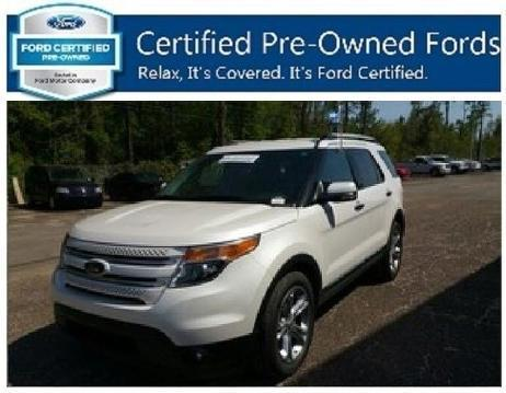 2014 Ford Explorer Limited SUV for sale in DIberville for $32,900 with 42,670 miles