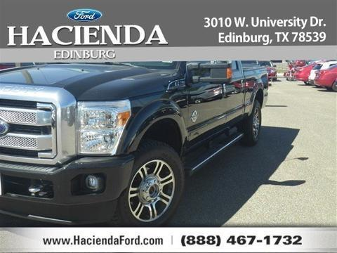 2013 Ford F250 Crew Cab Pickup for sale in Edinburg for $55,915 with 11,280 miles.