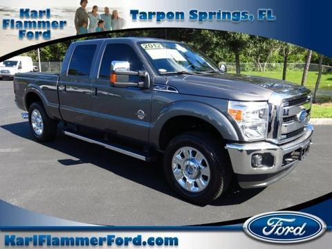2012 Ford F250 Lariat Crew Cab Pickup for sale in Tarpon Springs for $43,163 with 59,425 miles.