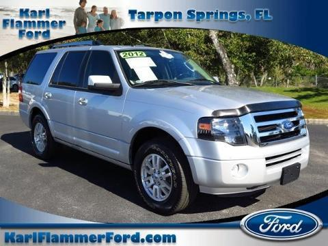 2012 Ford Expedition Limited SUV for sale in Tarpon Springs for $27,062 with 47,775 miles
