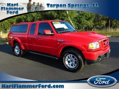 2011 Ford Ranger Sport Extended Cab Pickup for sale in Tarpon Springs for $21,533 with 21,940 miles.