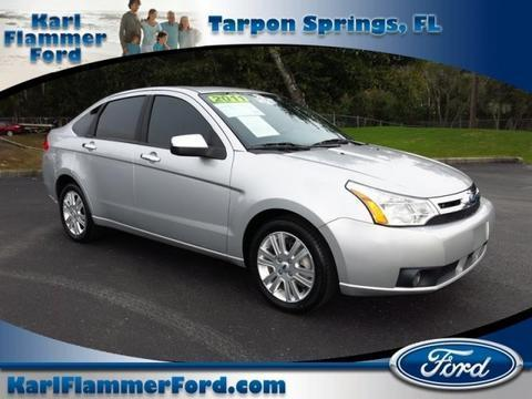 2011 Ford Focus SEL Sedan for sale in Tarpon Springs for $10,975 with 73,276 miles.