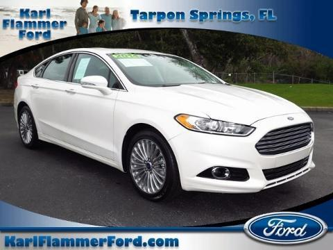 2014 Ford Fusion Titanium Sedan for sale in Tarpon Springs for $23,983 with 22,372 miles