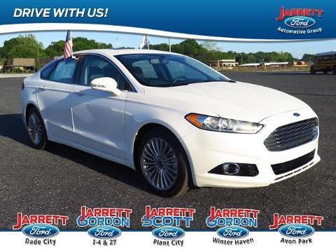 2014 Ford Fusion Titanium Sedan for sale in Dade City for $25,300 with 18,418 miles