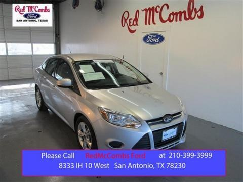 2014 Ford Focus SE Sedan for sale in San Antonio for $14,995 with 31,481 miles.