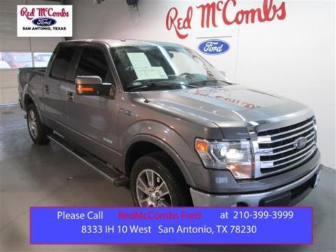 2014 Ford F150 Lariat Crew Cab Pickup for sale in San Antonio for $41,890 with 9,051 miles