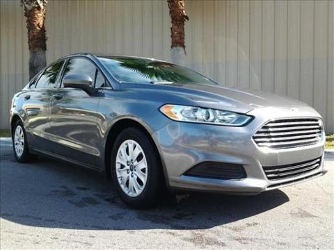 2013 Ford Fusion S Sedan for sale in Palm Coast for $14,977 with 42,564 miles.