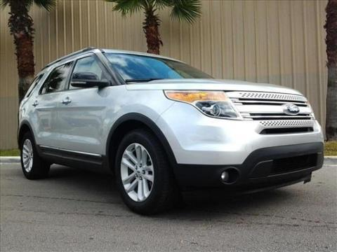 2012 Ford Explorer XLT SUV for sale in Palm Coast for $26,977 with 51,455 miles.