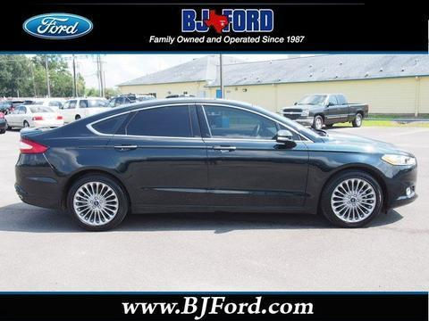2014 Ford Fusion Titanium Sedan for sale in Liberty for $23,679 with 17,577 miles.