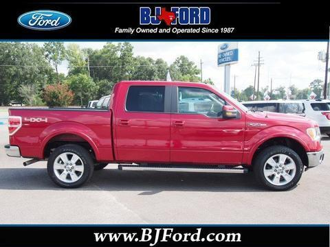 2011 Ford F150 Lariat Crew Cab Pickup for sale in Liberty for $28,741 with 44,895 miles.