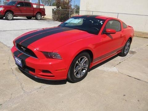 2014 Ford Mustang V6 Premium Coupe for sale in Nacogdoches for $23,855 with 35,973 miles