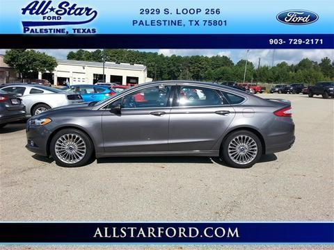 2014 Ford Fusion Titanium Sedan for sale in Palestine for $23,777 with 23,362 miles.