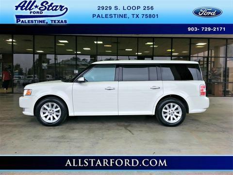 2012 Ford Flex SEL SUV for sale in Palestine for $21,777 with 52,724 miles.