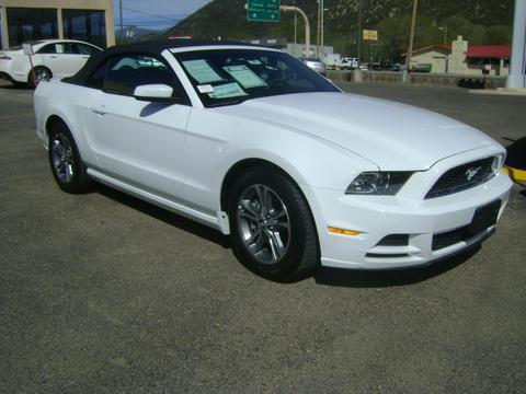 2014 Ford Mustang V6 Premium Convertible for sale in Ruidoso for $22,688 with 27,457 miles