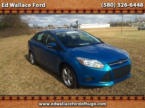 2013 Ford Focus SE Sedan for sale in Hugo for $14,500 with 20,055 miles