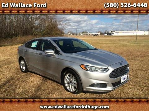 2014 Ford Fusion SE Sedan for sale in Hugo for $18,995 with 21,903 miles