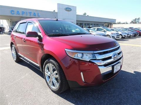 2014 Ford Edge SEL SUV for sale in Wilmington for $26,979 with 7,094 miles.