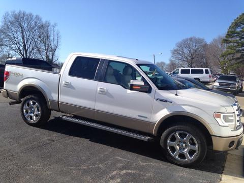 2013 Ford F150 Lariat Crew Cab Pickup for sale in Muscle Shoals for $38,841 with 22,918 miles.