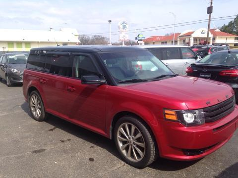 2012 Ford Flex Titanium SUV for sale in Muscle Shoals for $26,441 with 44,875 miles.