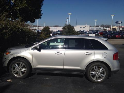 2012 Ford Edge Limited SUV for sale in Muscle Shoals for $24,446 with 47,133 miles.