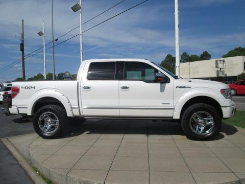 2013 Ford F150 Platinum Crew Cab Pickup for sale in Muscle Shoals for $41,658 with 23,189 miles