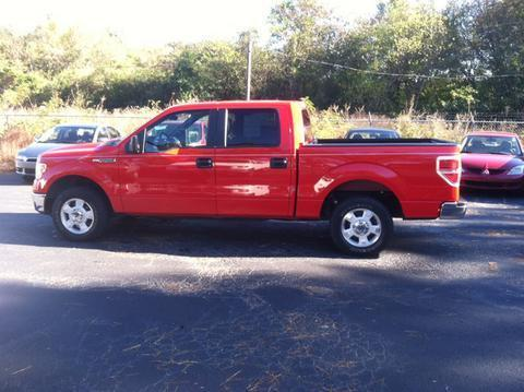 2013 Ford F150 XLT Crew Cab Pickup for sale in Muscle Shoals for $22,764 with 43,314 miles.