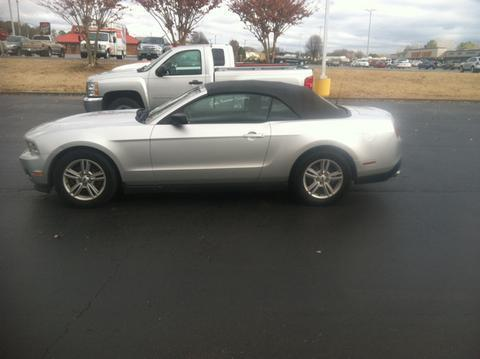 2012 Ford Mustang V6 Premium Convertible for sale in Muscle Shoals for $15,977 with 64,000 miles.