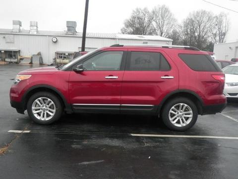 2013 Ford Explorer XLT SUV for sale in Muscle Shoals for $27,648 with 52,059 miles.