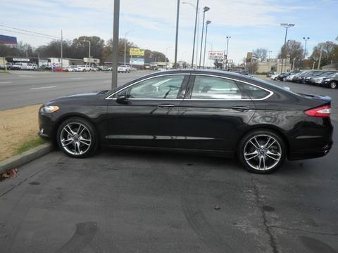 2014 Ford Fusion Titanium Sedan for sale in Muscle Shoals for $21,148 with 33,314 miles.