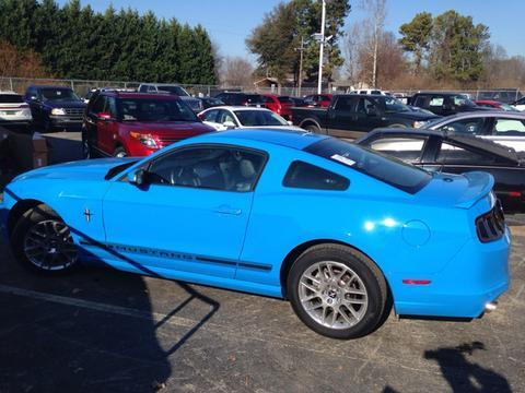 2014 Ford Mustang V6 Premium Coupe for sale in Muscle Shoals for $22,321 with 11,699 miles.
