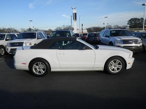 2014 Ford Mustang V6 Convertible for sale in Muscle Shoals for $18,974 with 43,698 miles.