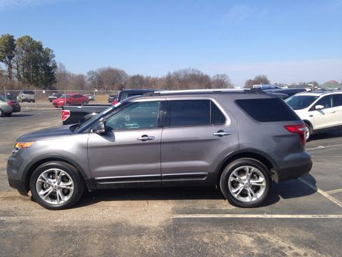 2014 Ford Explorer Limited SUV for sale in Muscle Shoals for $29,974 with 39,783 miles.