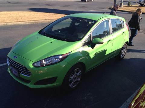 2014 Ford Fiesta SE Hatchback for sale in Muscle Shoals for $13,221 with 11,596 miles.