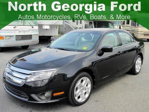 2011 Ford Fusion SE Sedan for sale in Blue Ridge for $12,956 with 48,469 miles.
